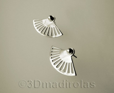 Sterling silver earrings.