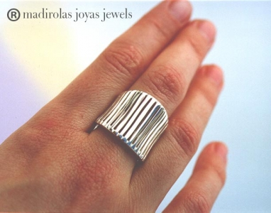 sterling silver PLAIN ring