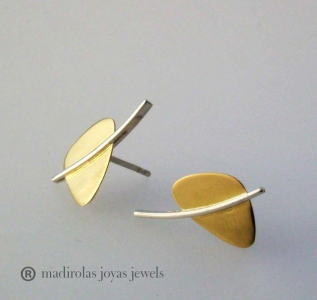 Contemporary earrings.